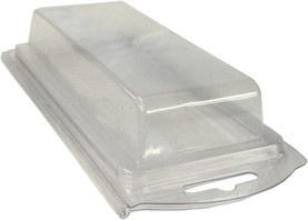 Plastic Clamshell with Label for 20 AA Batteries - 900 per Case