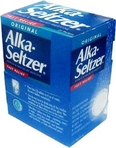 Alka-Seltzer Original, Antacid & Pain Relief Medicine, Fast Relief, Effervecent Tablets, 25 /2Packs