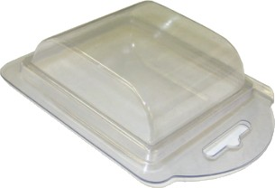 Plastic Clamshell for 2 C-Size Batteries - 3,600 per Case