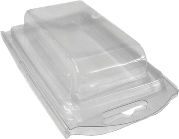 Plastic Clamshell with Label for 4 C Size (or 12 AA*) Batteries - 1800 per Case