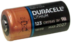 Duracell Ultra DL123A 3Volt Photo Lithium Battery Bulk Pack - Made in the USA, Date 3, 2027