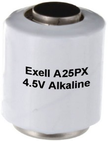Exell Batteries A25PX 4.5V Alkaline