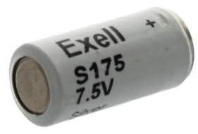 Exell Batteries EXS175 (5SR44) 7.5V Silver Battery