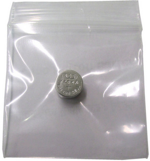 GI Ag5, 193 Alkaline Button Battery, in Single Zip Lock Bag