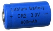 GI CR2 3 Volt, 800mAh Lithium-Ion Rechargeable Battery