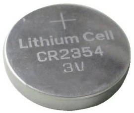 GI CR2354 Coin Lithium Battery, Bulk Pack in Tray