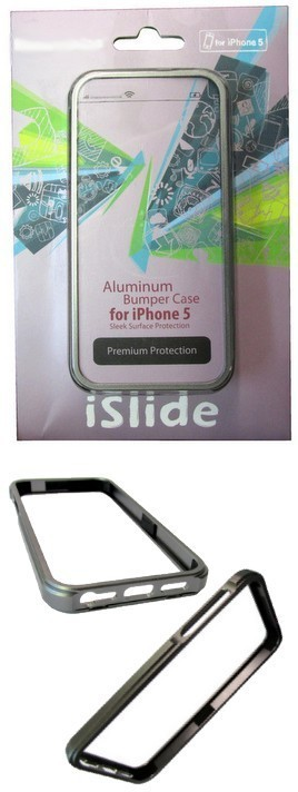 iSlide Aluminum Bumper Case for iPhone 5, Premium Protection