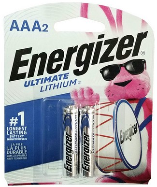 Energizer L92 Photo AAA Ultimate Lithium Battery 2 Pack AAA