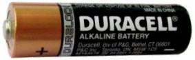 "Duracell MN1500 AA Size Alkaline Battery - Bulk.  Made in China ""3-2026"" Date AA"