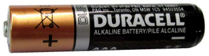 "Duracell MN2400 AAA Size Alkaline Battery, Bulk - Made in China ""3-2026"" Date AAA"