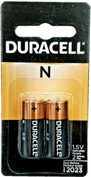 Duracell MN9100 N Size Battery, 2-Pack