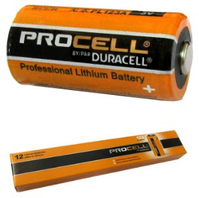 Duracell Procell Professional PL123A 3V Photo Lithium Battery, Boxed - Made in USA, Dated 3, 2024