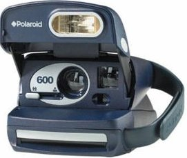 Polaroid 600 Camera, Uses Polaroid 600 Film