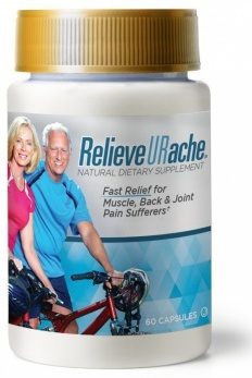 RelieveURache, Natural Dietary Supplement, 60 Capsules
