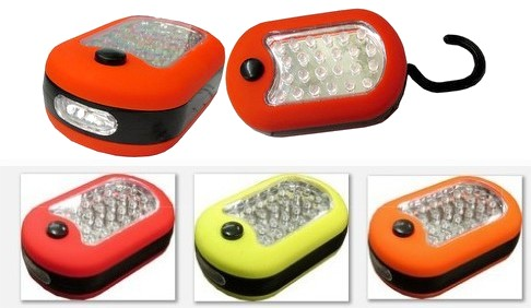 27 LED Worklight plus Side Light, 3 AAA Batteries included