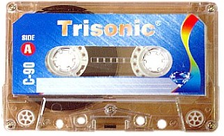 Trisonic Blank Audio Tape 90 MIN Without Plastic Box