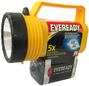Eveready 5109LS LED Lantern Flashlight with 1209 Battery