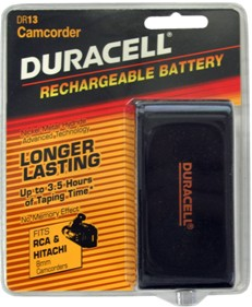 Duracell 6 Volt Nickel Metal Hydride Battery DR-13