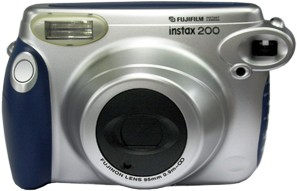 FujiFilm Instax 200 Instant Camera, Wide Picture Format (Similar to Discontinued Polaroid Cameras)