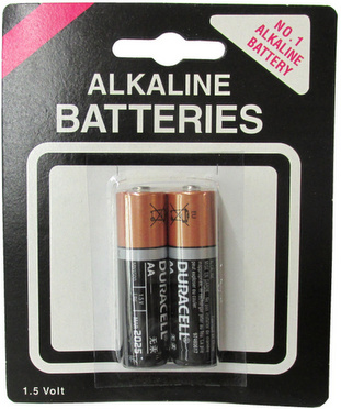 Duracell MN1500 AA 2 pack on Generic Blister Card AA