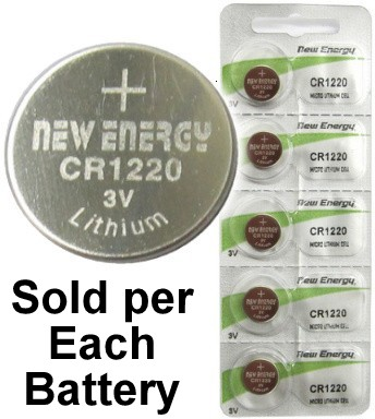 Cheap Batteries Com New Energy Cr1220 3v Lithium Coin Cell