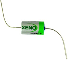 XenoEnergy XL-050FAX 1/2AA 3.6 Volt 1.2Ah Lithium W/axial leads