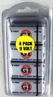 GI 9 Volt Super Heavy Duty, 4 Pack - in Reusable Plastic Pack