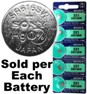Sony Batteries SR616SW - 321 Silver Oxide Watch Battery - On Tear Strip, Exp. 6-2019