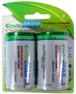 Fuji EnviroMax D Super Alkaline 2-Pack Battery Blister Pack D