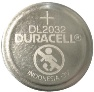 Duracell DL2032 3 Volt Lithium Coin Battery Tray Pack