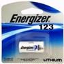 Energizer EL123 3Volt Lithium Battery in Blister Pack