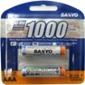 SANYO 1000mAh AAA Rechargeable 2-Pack