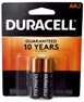Duracell MN1500B2 AA Size Battery 2 pack USA Retail Packs