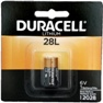 Duracell PX28L 6 Volt Lithium Battery, Carded