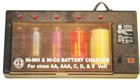 SG-14 NiMh & NiCd Battery Charger -  110/220V.  Charges 4 AA, AAA C, D and 1 9 Volt Batteries