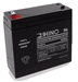 SLA9-4, Rhino  4V 9Ah Sealed Lead Acid Rechargeable Battery