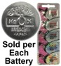 Maxell Hologram SR421SW (348) Silver Oxide Watch Battery. On Hologram Tear Card