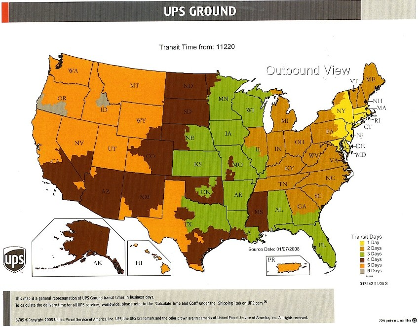 BatteriesAndButtercom Batteries And Butter Information - Us postal zone map