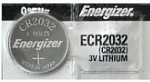 Energizer Coin Batteries