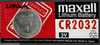 Maxell CR 2032 Coin