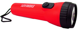 Energizer LC1L2D1 (3151LBP) LED (8 X Longer Runtime) Red Flashlight, Uses 2 D Batteries