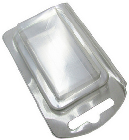 Plastic Clamshell for Single 9 Volt Battery - 4000 per Case
