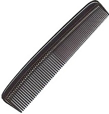9 inch Ladies Black Color Combs
