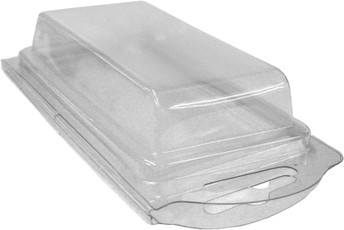 Plastic Clamshell with Label for 20 AAA Batteries - 1500 per Case