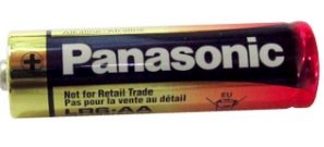 Panasonic AA Alkaline Plus Power Battery, Bulk Pack AA