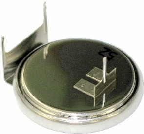 Sanyo CR2032-FT10 3 Volt Lithium Coin Battery W/3 Pin Pc # CR2032-FT10