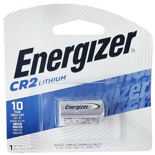 Energizer CR2 Lithium 3 Volt 1 Battery Carded 2028 #EL1CR2BP