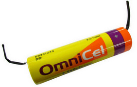 OmniCell 3.6 Volt, 35Ah, DD Size Lithium Battery - with Tabs