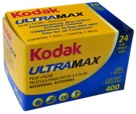Kodak 400 ASA GC135-24 GOLD 35MM FILM 24 Exposures Date 6-2015