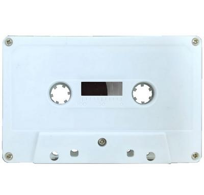 C62 Blank Audiocassette Tape - White